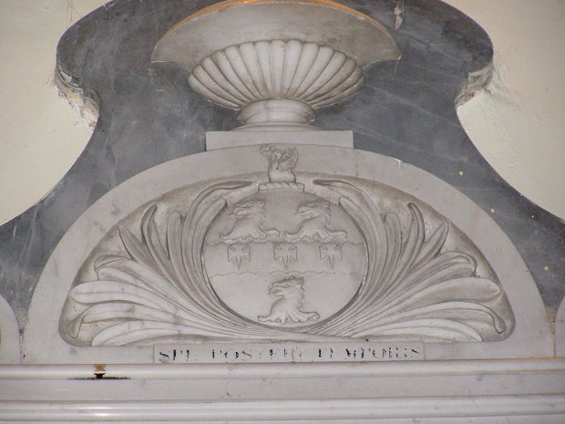Atcherley arms and motto