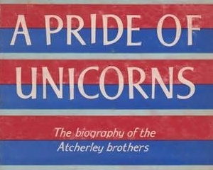 Book cover: A Pride of Unicorns