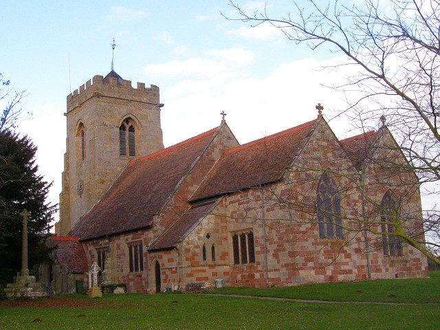 High Ercall church, Shropshire