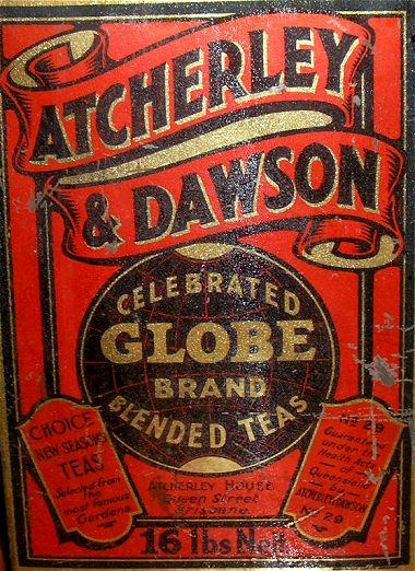 Atcherley and Dawson tea tin