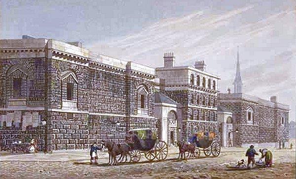 London, Newgate Prison circa 1810