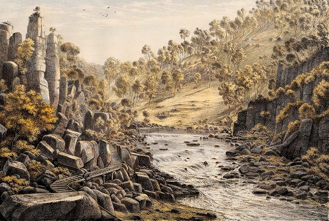 Tasmania, Cataracts near Launceston