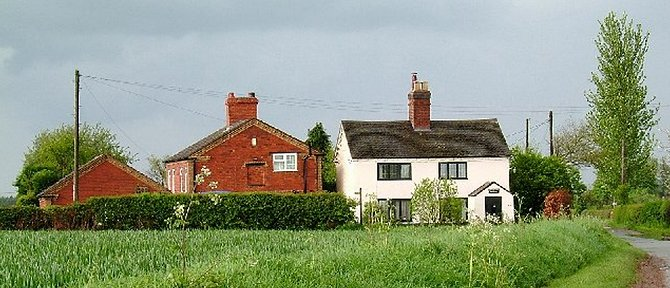 Staffordshire - Batchacre Cottages, Shebdon