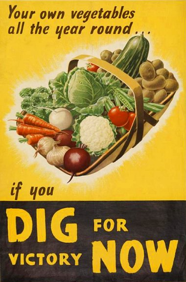 WW2, Dig for Victory poster
