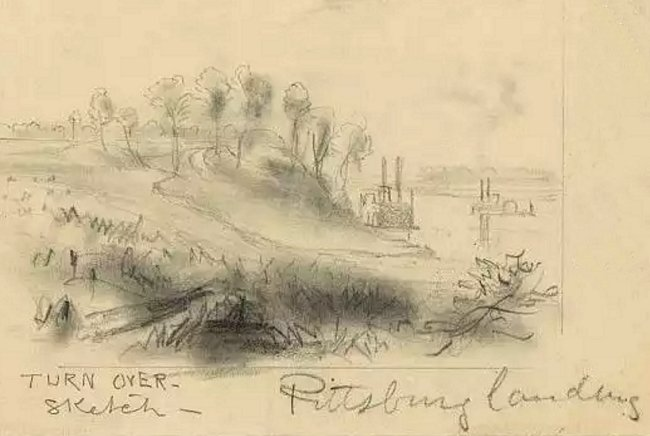 events - American Civil War - Pittsburg Landing, 1862