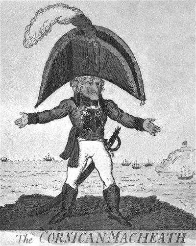 Napoleon (caricature) 1803