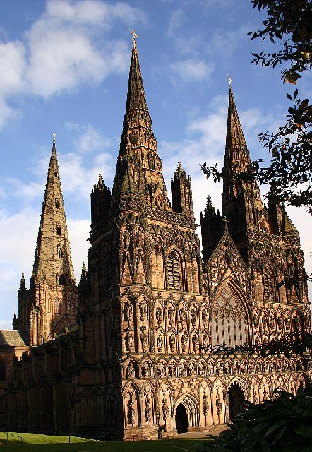 Places - Lichfield Cathedral