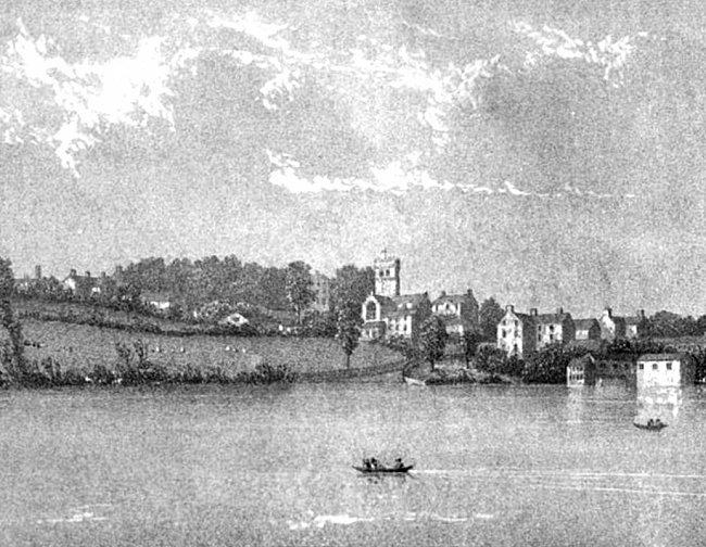 Ellesmere, Shropshire about 1824