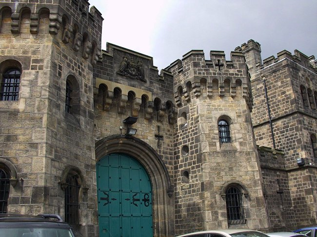 HM Prison Leeds (Armley Gaol), old gate